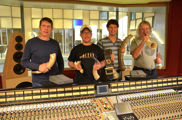 Alphorn Quartett Alphorn Experience