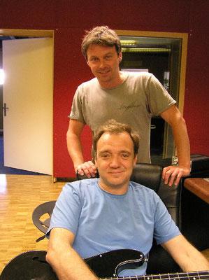 Florian Ast und Guy Pratt