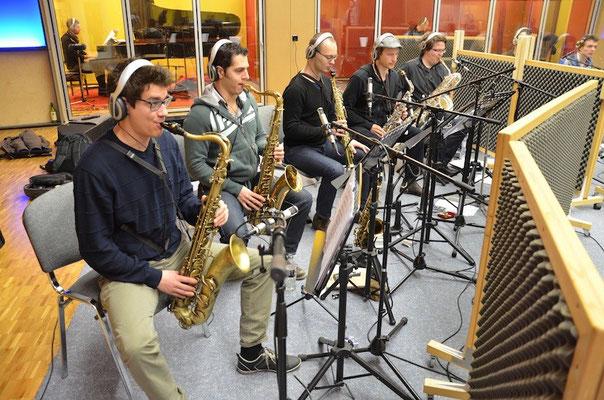 Swiss Army Big Band unter der Leitung von Johannes Walter