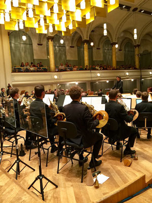 Konzertaufnahmen der Aulos Blasorchester mit Dirigent Bram Sniekers in der Tonhalle St. Gallen und Le Theatre Emmen