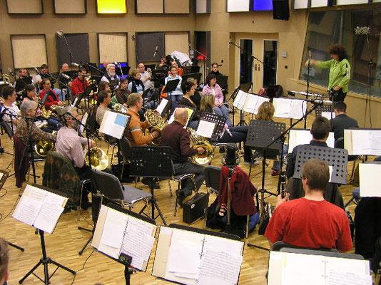 Blasorchester Feldmusik Neuenkirch unter der Leitung von Isabelle Ruf Weber