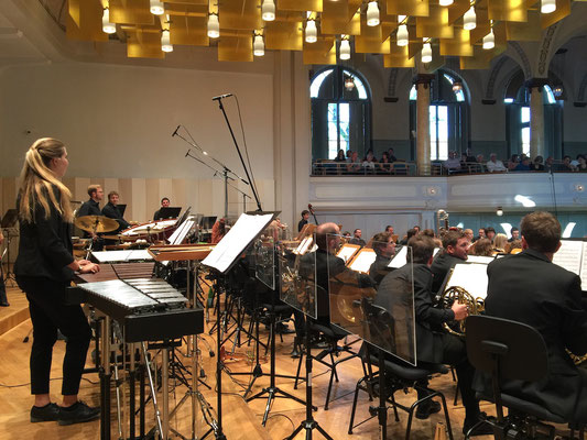 Aulos Blasorchester Konzertaufnahmen in der Tonhalle St. Gallen