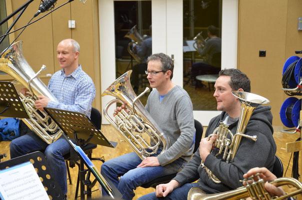 Karl Schimke, Thomas Rüedi und Christoph Hertig