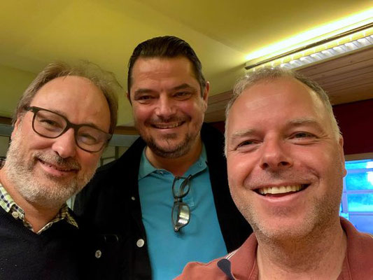 Christian Noth mit Adrian Schneider und Thomas Gabriel