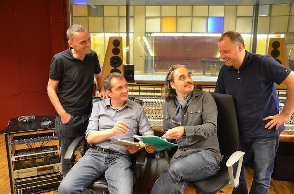 Tschämu, Dani Gasser, Stephan Eicher und Thomas Gabriel