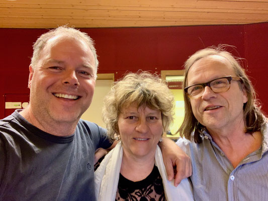 Thomas Gabriel, Béatrice Graf und Peter Schärli