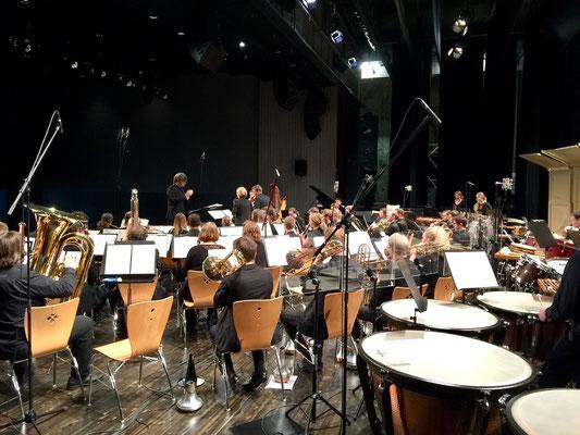 Aulos Blasorchester Konzertaufnahmen Le Theatre Emmen