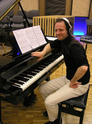 Radioaufnahmen mit der Bürgermusik Luzern unter der Leitung von Ludwig Wicki