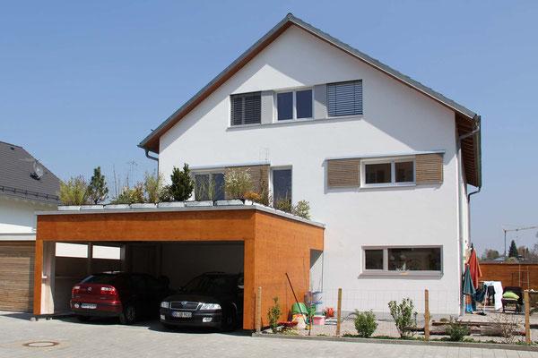 Neubau eines Doppelhauses