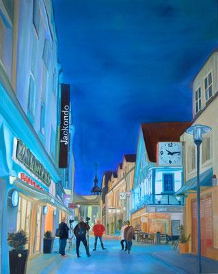 """""""Große Geldstraße"""" (80×100cm) 2019"""