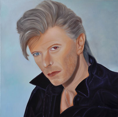 """David"" (60×60cm) 2020"