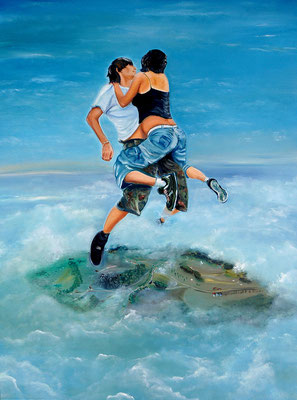 """Love"" (60×80cm) 2013"