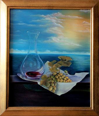 """""""Weintrauben"""" (40×50cm)"""