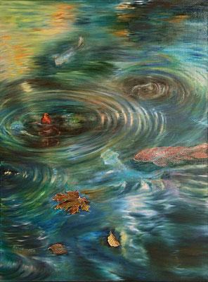 """""""Fische"""" (70×100cm) 2014"""