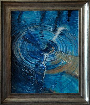 """""""Wasserwirbel"""" (40×50cm) 2011"""