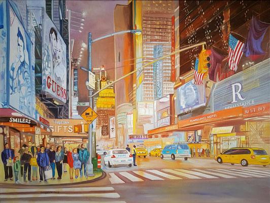 """New York"" (80×60cm) 2019"