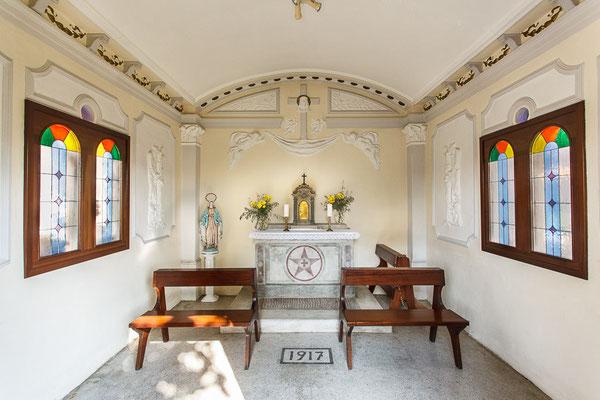 ANA San Giorgio di Nogaro - Interno chiesetta famiglia Maran (foto Alessio Buldrin)