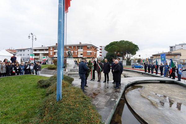 ANA San Giorgio - Cerimonia 4 novembre