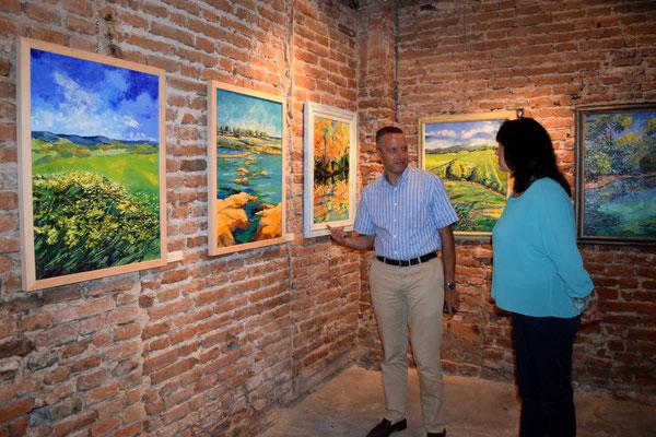 Villa Guarienti-Baja - Tarmassia Isola della Scala, Verona - 9 Settembre 2015 - Percorso Colorato con Flavio Tosi
