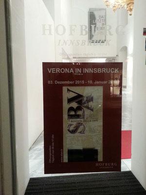 collettiva presso Palazzo Reale di Innsbruck