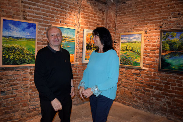 Villa Guarienti-Baja - Tarmassia Isola della Scala, Verona - 9 Settembre 2015 - Con Don Adriano, parroco di Tarmassia