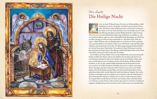 """Krippenbild zu Selma Lagerlöf """"Die Heilige Nacht"""""""