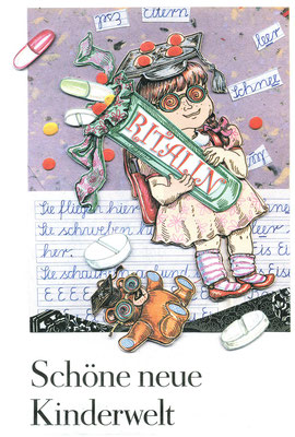 Collage für DIE ZEIT, Schöne neue Kinderwelt  © Caroline Ronnefeldt