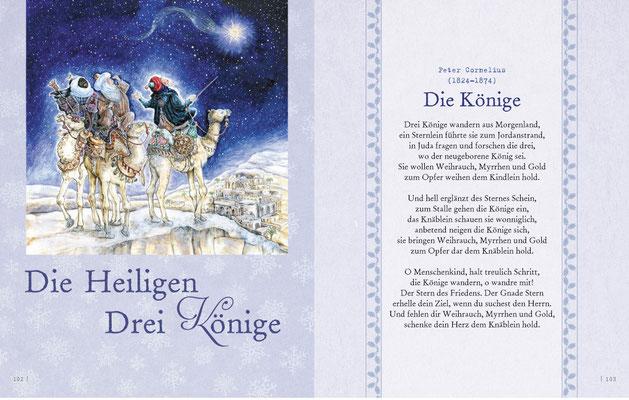 Heilige Drei Könige Illustration © Caroline Ronnefeldt