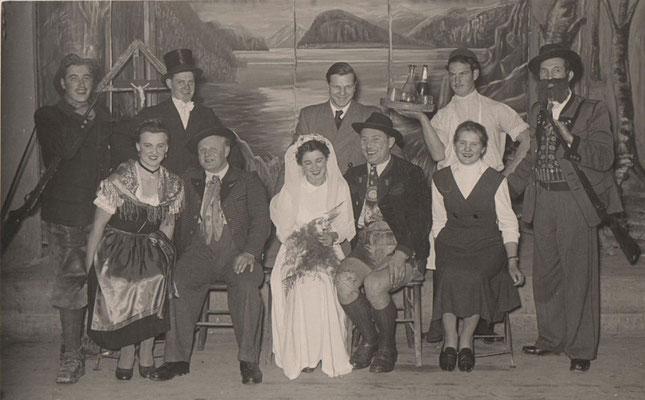 Burgl vom Traunsee, 1955