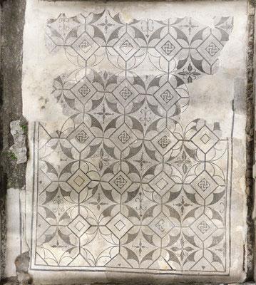 Villa Domizia, Roman Mosaic, Monte Argentario