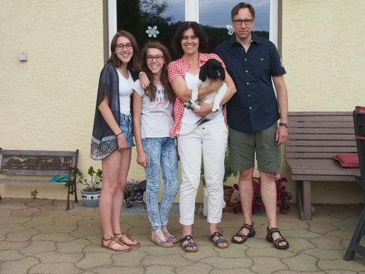"""Anton wurde am 21.06.17 von der Fam. Dr. Renz auf die """"Alb"""" nach Amstetten abbgeholt."""