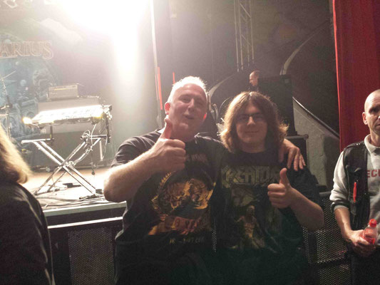 AFTER STRATOVARIUS SHOW  LKA Stuttgart