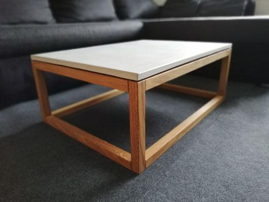 Betonmöbel aus Solothurn, echt Beton Möbel,  Beton und Holz, echter Beton und Massivholz, Salontisch aus Beton