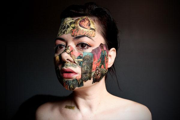 Homage - Inspired by the fantastic work of artist Sandra Chevrier