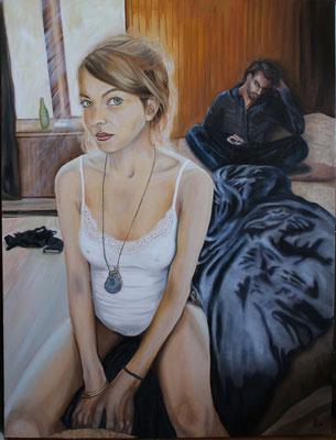 """Unexplained"" Oil on Canvas - 30"" x 40"" - 750$"