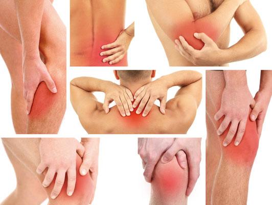 Indikationen: Schulter- und Rückenschmerzen