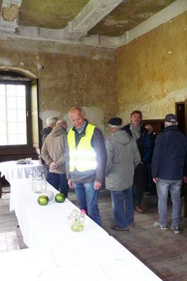 Innenraum, in dem hin und wieder Veranstaltungen stattfinden