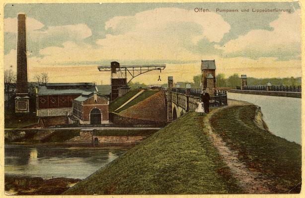 Eine Ansichtskarte aus dem Jahre 1907