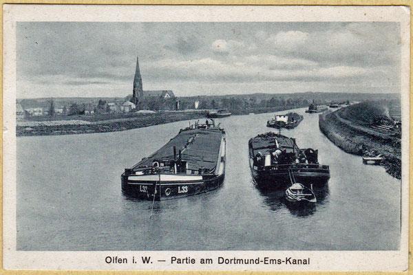 1950 Schiffe in der Hafennähe