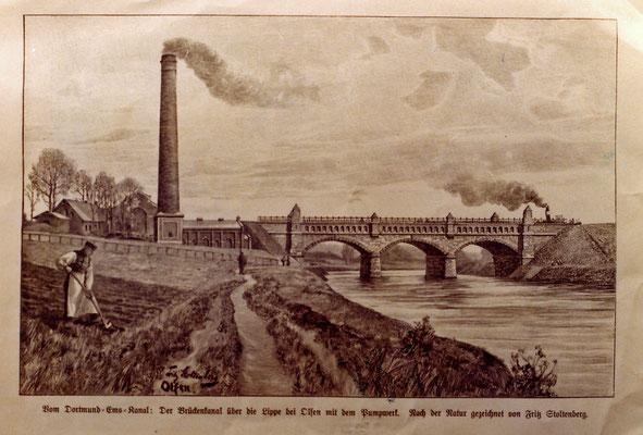 Eine Zeichnung aus dem Jahre 1899