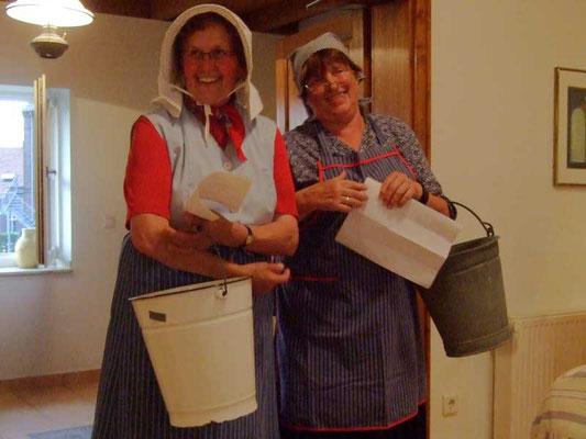 Elsbeth Bünder und Christel Schaemann erzählen, warum sie es als Bäuerin so viel besser haben ....