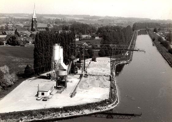 Betonwerk am Olfener Hafen