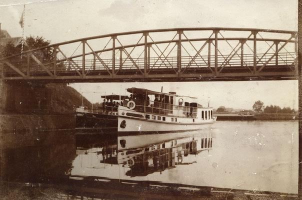 Im Olfener Hafen war ein Versorgungsschiff zu Hause