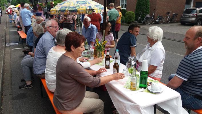 Tische des Heimatvereins