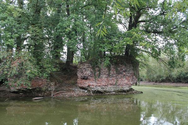 Die heutige Ruine der Rauschenburg
