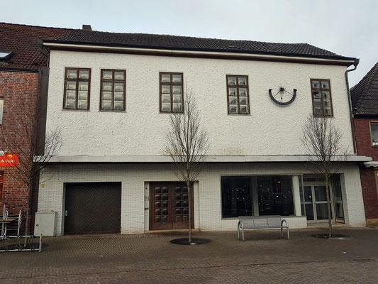 Sein Geburtshaus. Hier wohnte er bis zum Jahre 1832