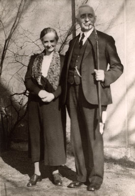 Bernhard Holtmann mit seiner 2. Ehefrau Lene, geb. Bette