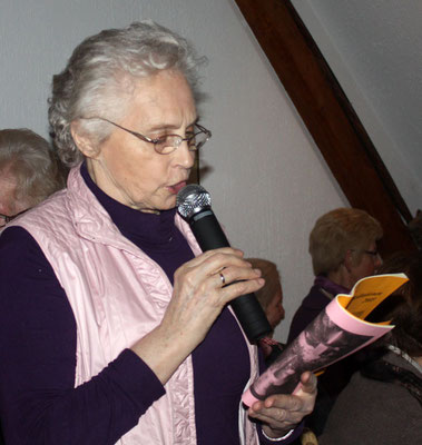 ... Maria Kortenbusch einige Stücke vor