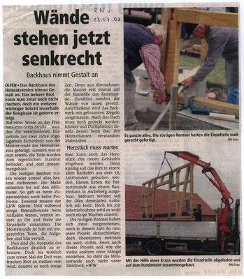 Ruhr Nachrichten vom 13.07.07