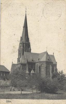 Die vierte und heutige Kirche St. Vitus, erbaut 1880.